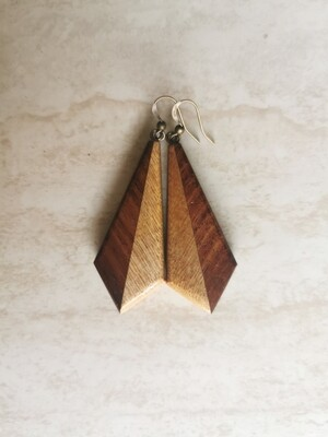 DUE 10 - Handmade Wooden Earrings