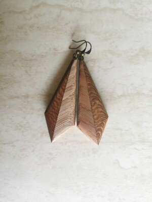 DUE 9 - Handmade Wooden Earrings