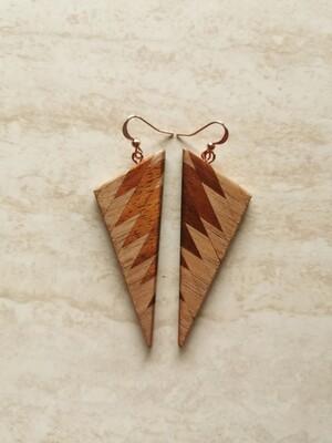 RARANGA 22 - Handmade Wooden Earrings