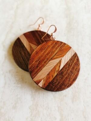 WAIMAKARIRI 2 - Handmade Wooden Earrings