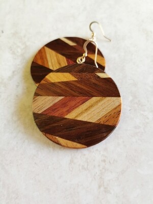 WAIMAIRI - Handmade Wooden Earrings