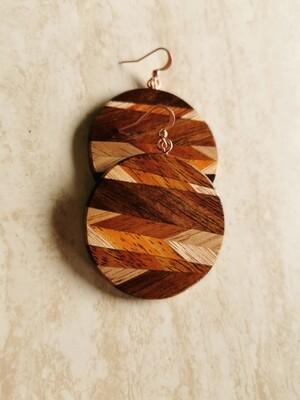 PEGASUS 1 - Handmade Wooden Earrings