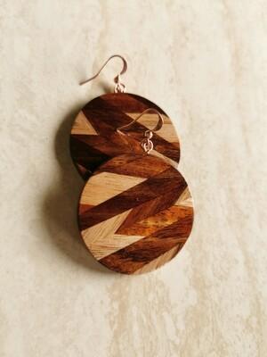 PEGASUS 2 - Handmade Wooden Earrings