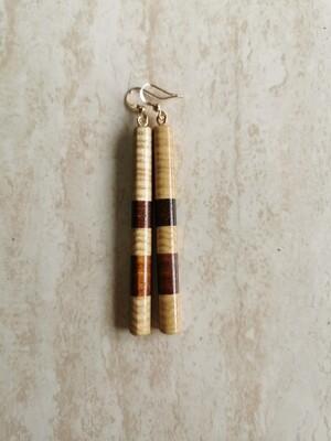 PIUPIU 4 - Handmade Wooden Earrings