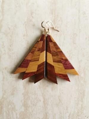 MIROMIRO 9 - Handmade Wooden Earrings
