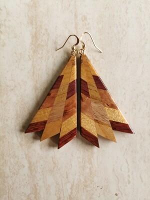 MIROMIRO 8 - Handmade Wooden Earrings