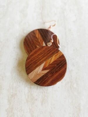 WAIMAKARIRI 5 - Handmade Wooden Earrings