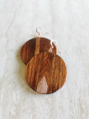 WAIMAKARIRI 4 - Handmade Wooden Earrings