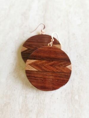 WAIMAKARIRI 6 - Handmade Wooden Earrings