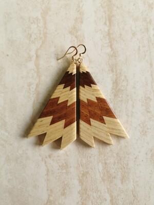 MIROMIRO 10 - Handmade Wooden Earrings