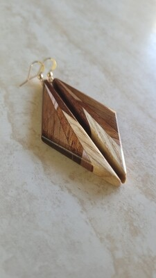 AORAKI 5 - Handmade Wooden Earrings