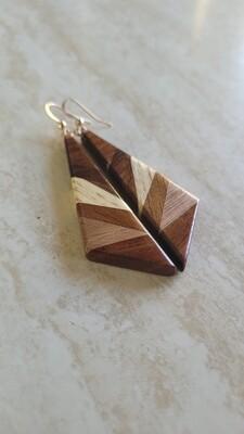 AORAKI 6 - Handmade Wooden Earrings