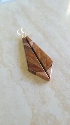 ARROWSMITH 1 - Handmade Wooden Earrings