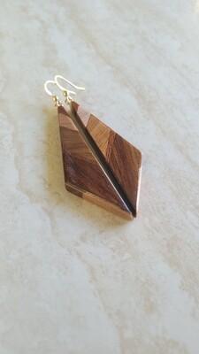 ARROWSMITH 2 - Handmade Wooden Earrings
