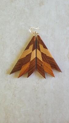 MIROMIRO 14 - Handmade Wooden Earrings