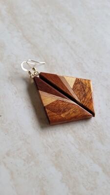 AORAKI 3 - Handmade Wooden Earrings