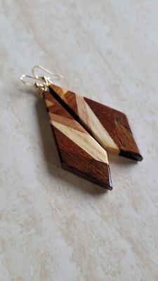 AORAKI 2 - Handmade Wooden Earrings