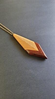 PUNTA - Handmade Wooden Necklace