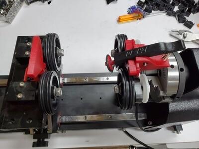 BossMod Rotary Roller Clamp Kit