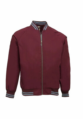 Monkey Jacket Maroon Sky Real Hoxton