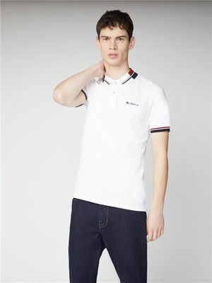 Polo Ben Sherman - White