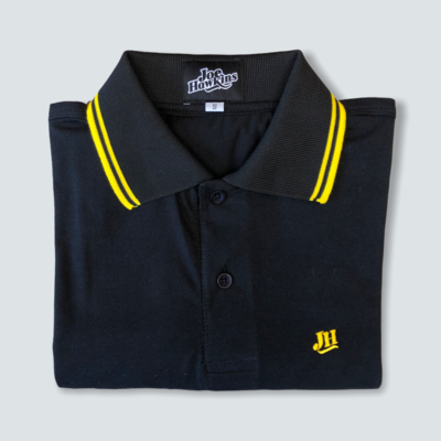 Polo ECO JH (Negro/amarillo)