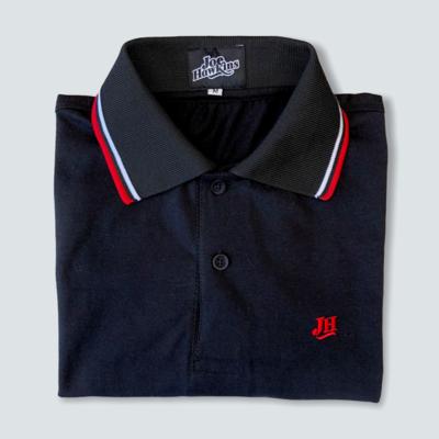 Polo ECO JH (Negro/Rojo)