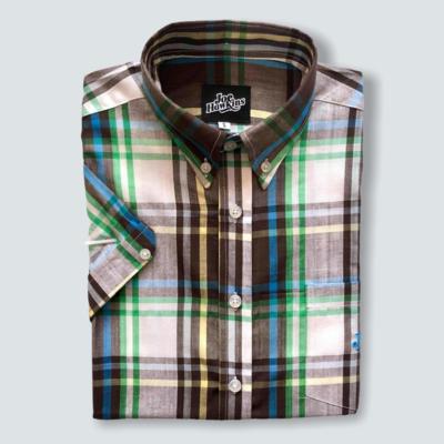 Ivy Shirt (Green/Brown)