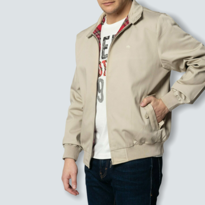 Harrington Merc London - Beige