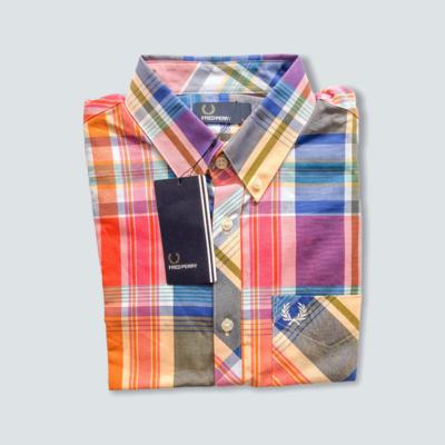 Fred Perry Madras Check Shirt