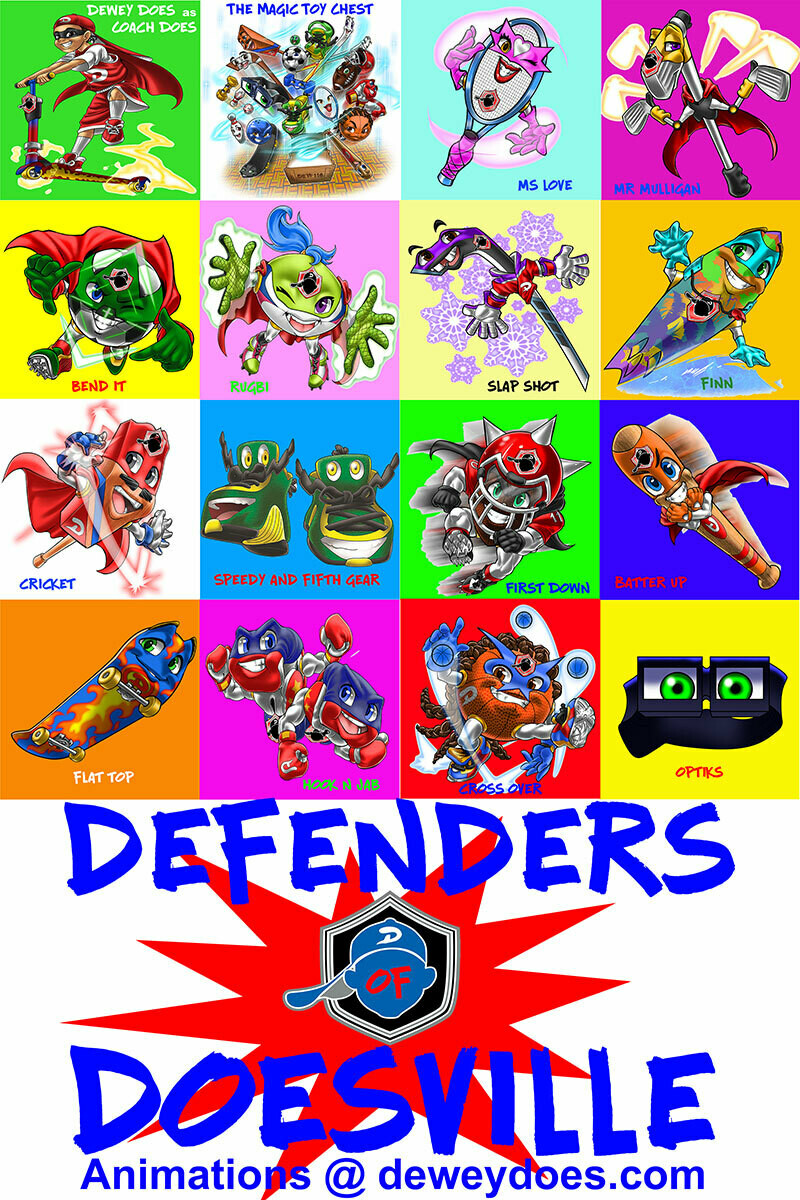 DEFENDERS OF DOESVILLE POSTER