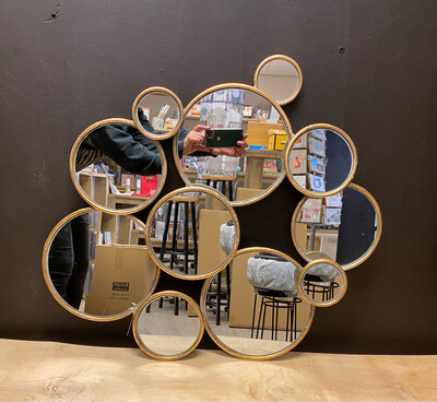 Spiegel 'bubbels'
