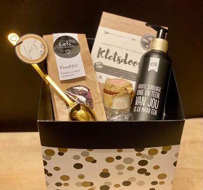 Giftbox ' Bijkletsen'