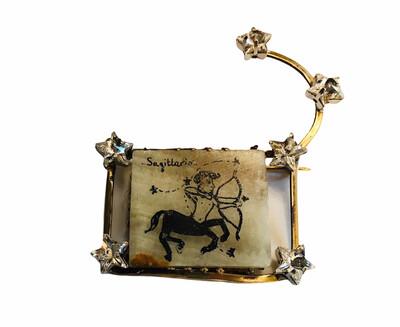 🇮🇹Spilla zodiacale - Zodiac brooch🇬🇧
