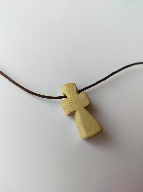 Houten kruisje