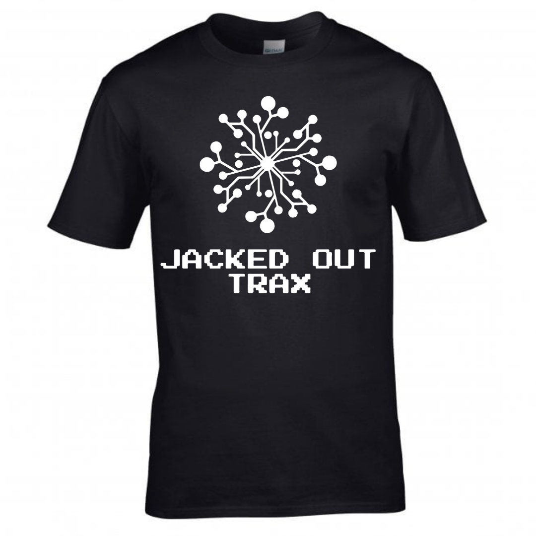 JACKED OUT TRAX T-SHIRT (BLACK)