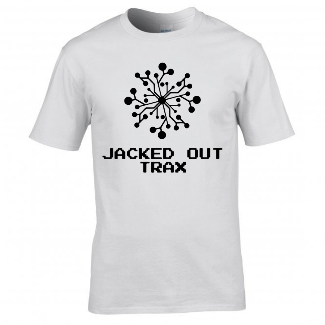 JACKED OUT TRAX T-SHIRT (WHITE)