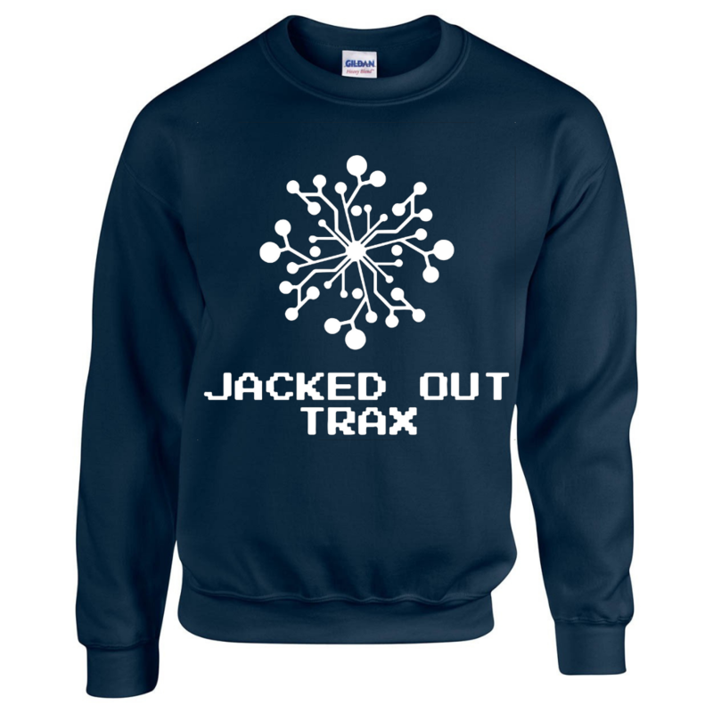 JACKED OUT TRAX SWEATSHIRT (NAVY)