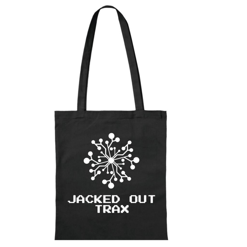 JACKED OUT TRAX TOTE BAG (BLACK)