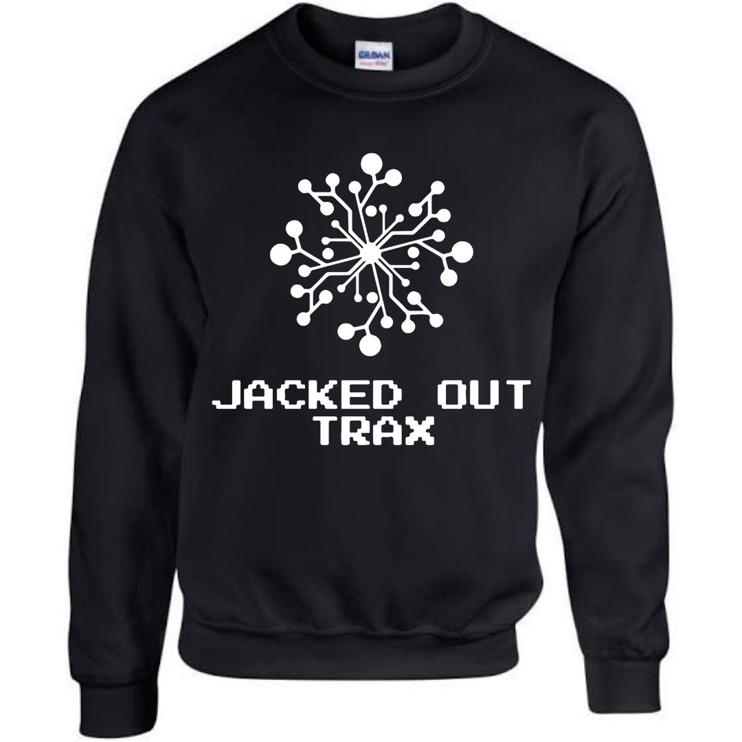 JACKED OUT TRAX SWEATSHIRT (BLACK)