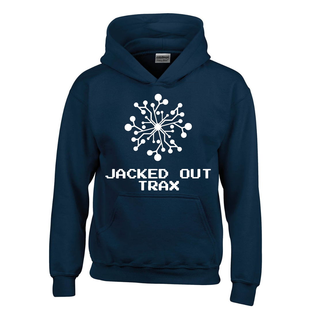JACKED OUT TRAX HOODIE (NAVY)