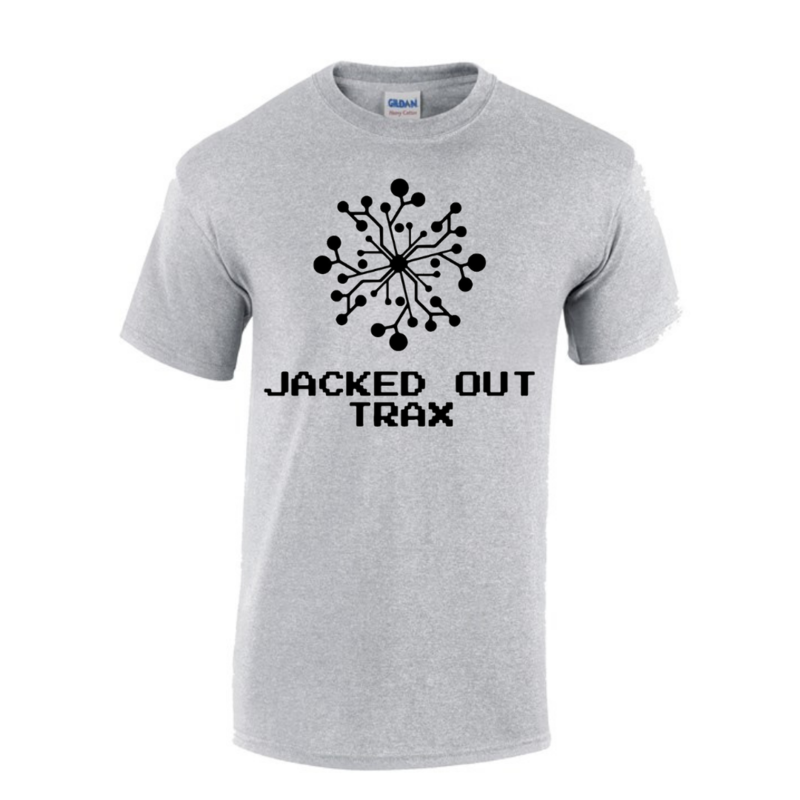 JACKED OUT TRAX T-SHIRT (GREY)