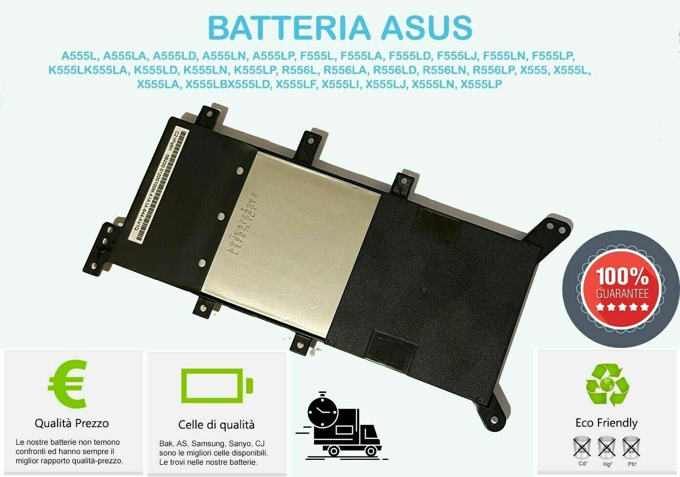 Batteria Originale per  ASUS F555Q