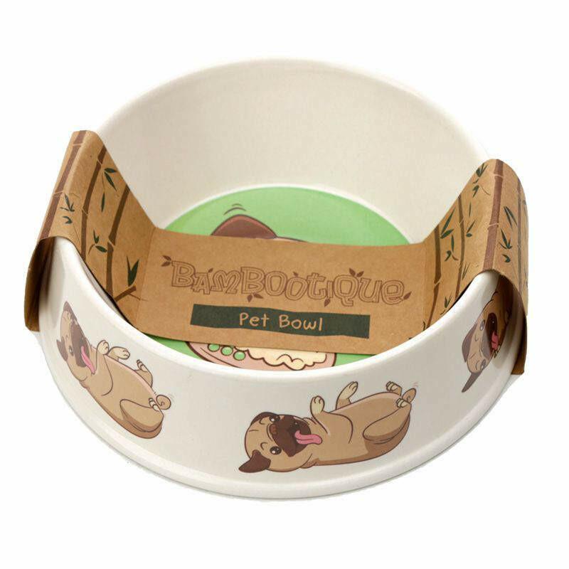 Pug Feeding Bowl