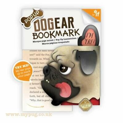 Pug Lugs Bookmarks