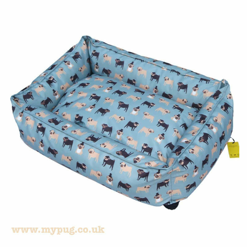 Pug Dog Bed by Fenella Smith