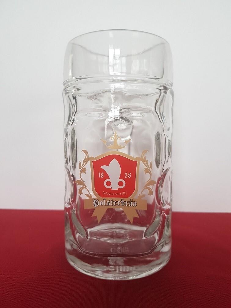 Polsterbräu Bierkrug 0,5l