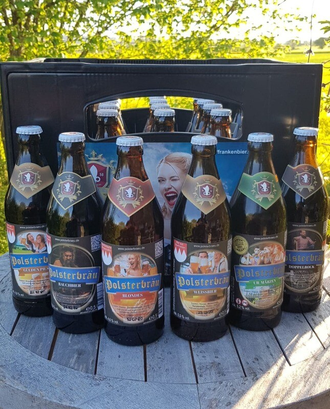 Polsterbräu 20er Bierkasten
