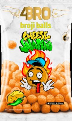 4Bro Broji Balls Cheese Jalapeno