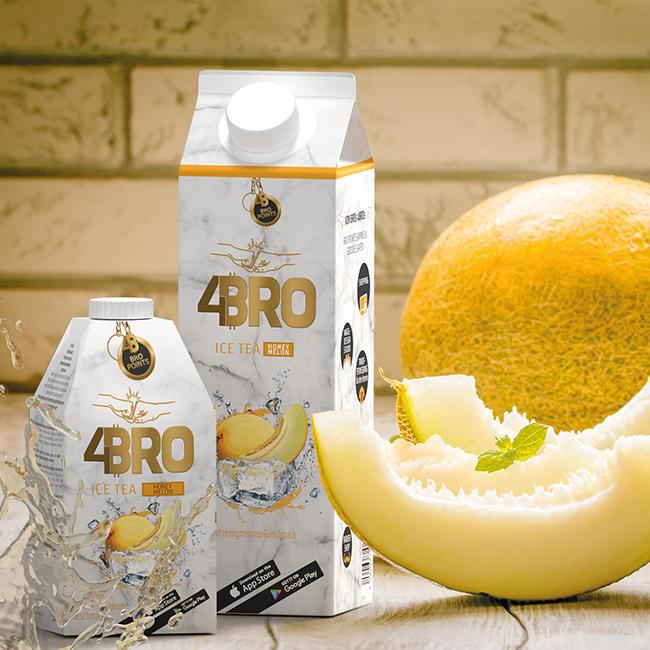 4Bro Ice Tea Honey Melon